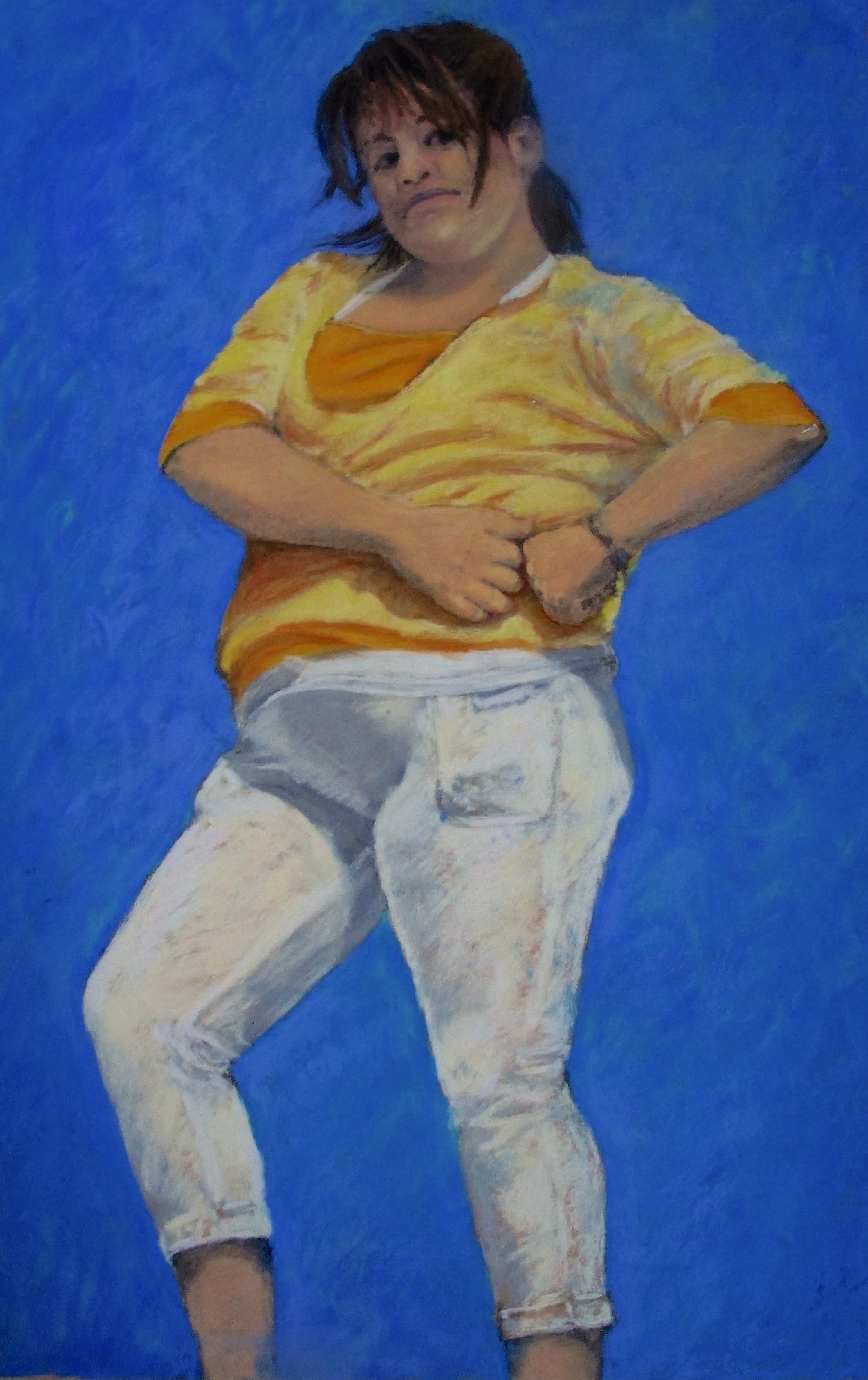 Attitude, 2011, 50x32cm