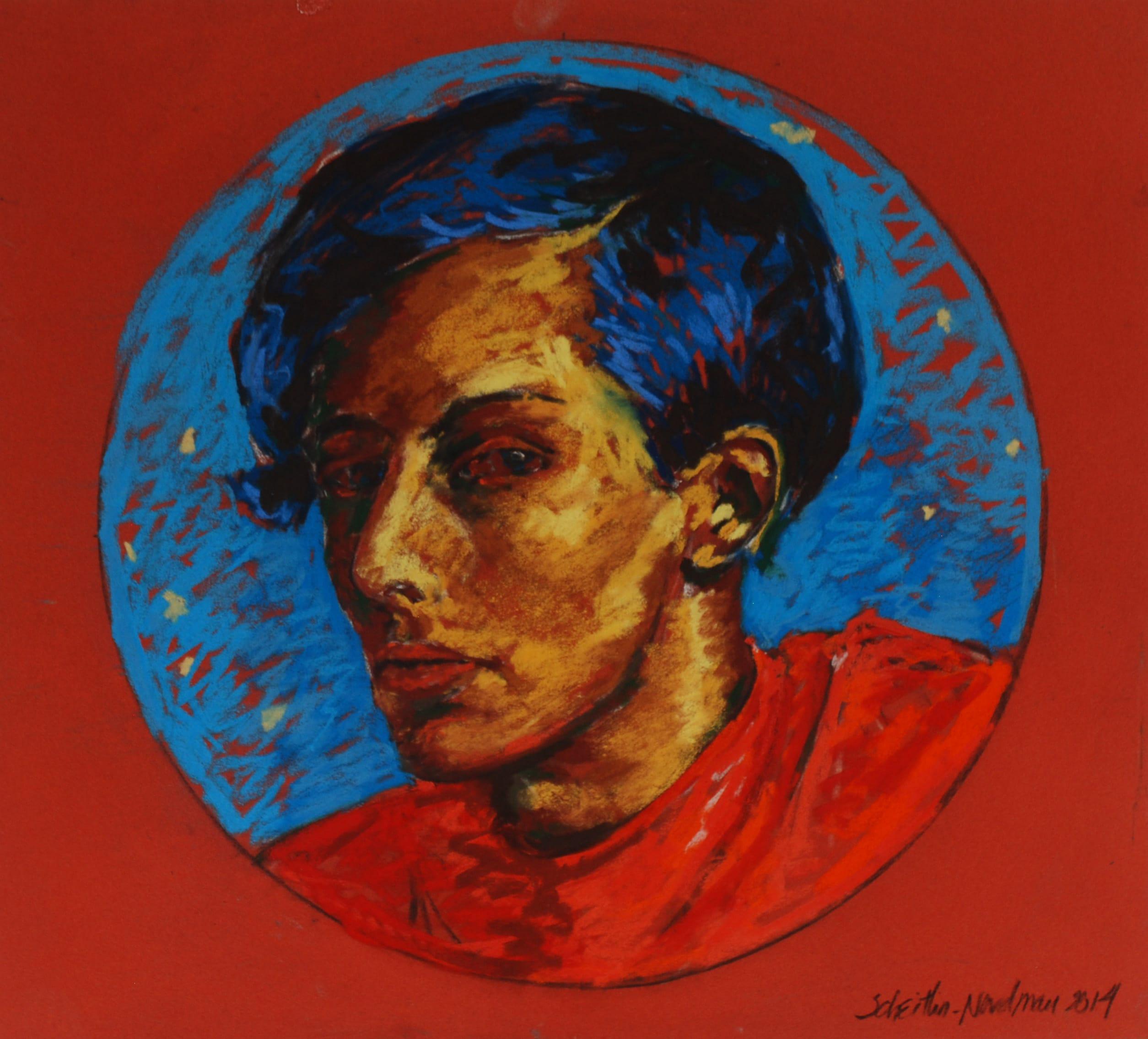 Auguste S., 2014, 50x50cm