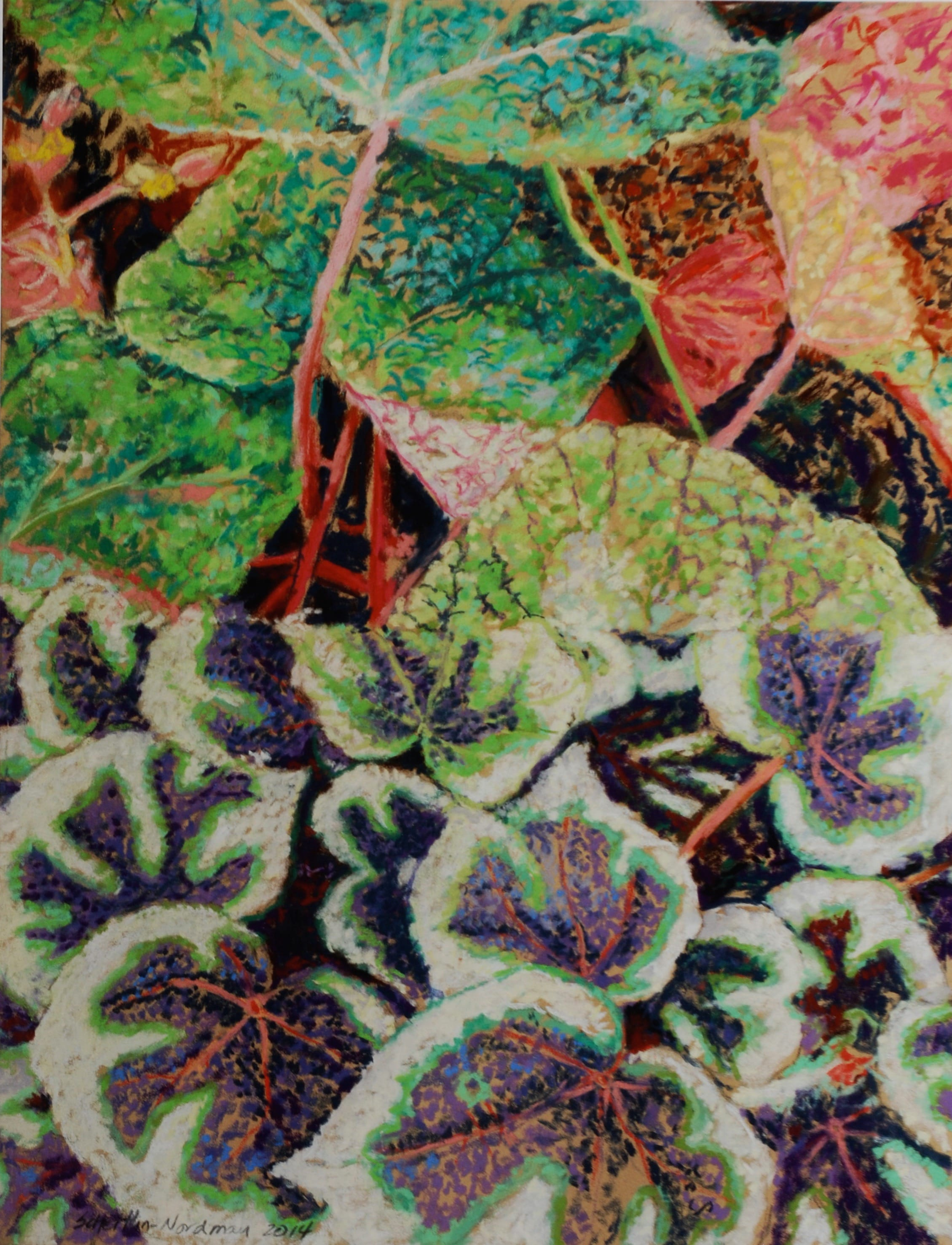 Green Thumb, 2014, 65x50 cm