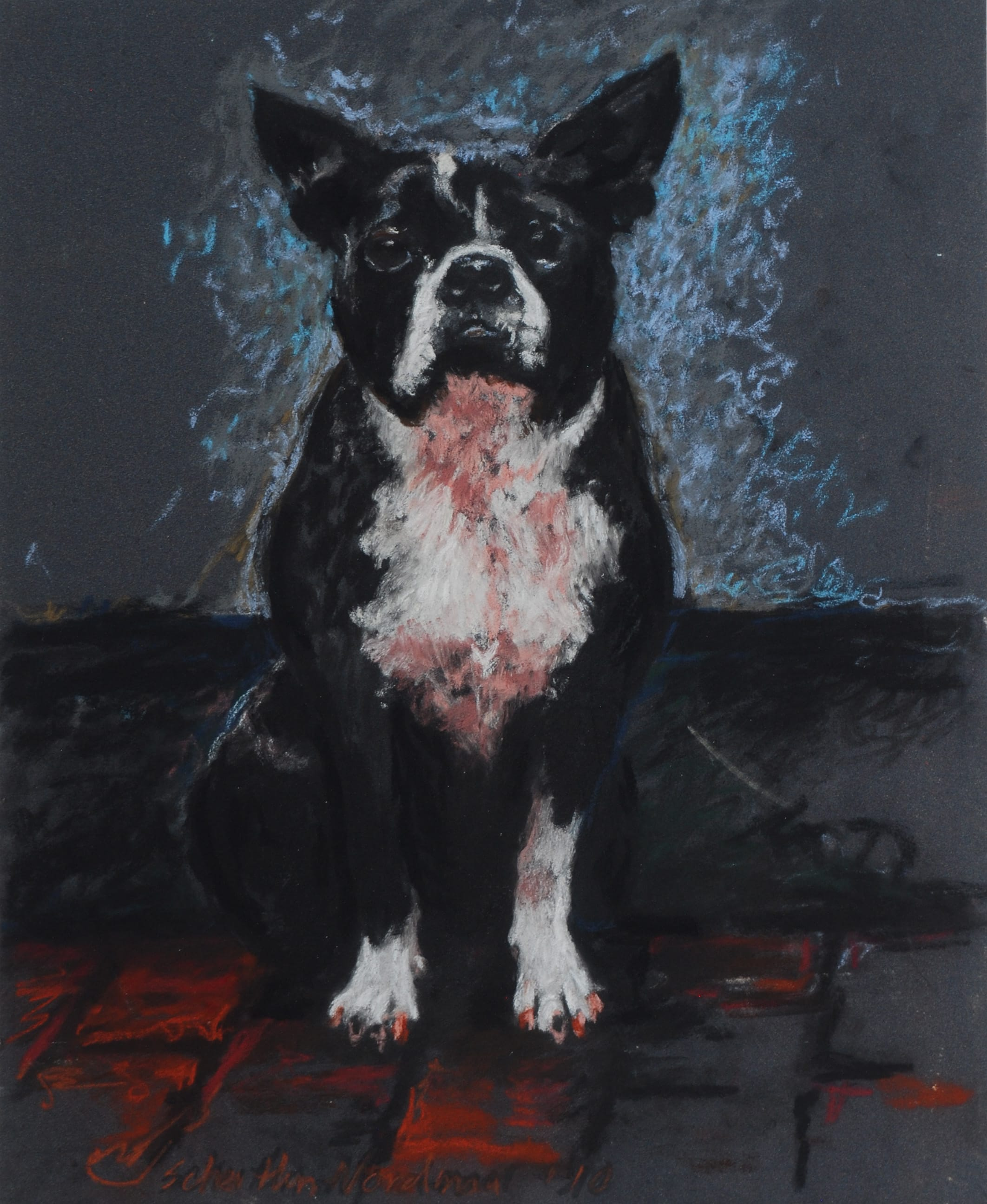 It's Not my Dog!, 2010, 36x30cm