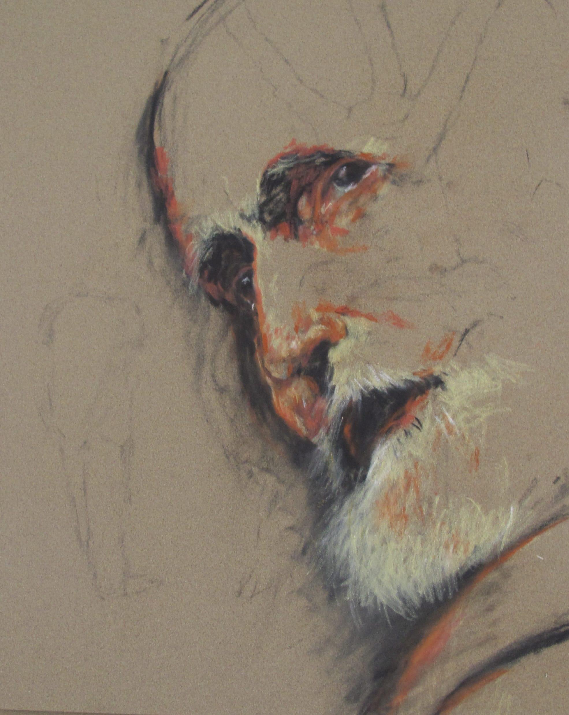 L'Ancêtre, 2010, 32x24 cm