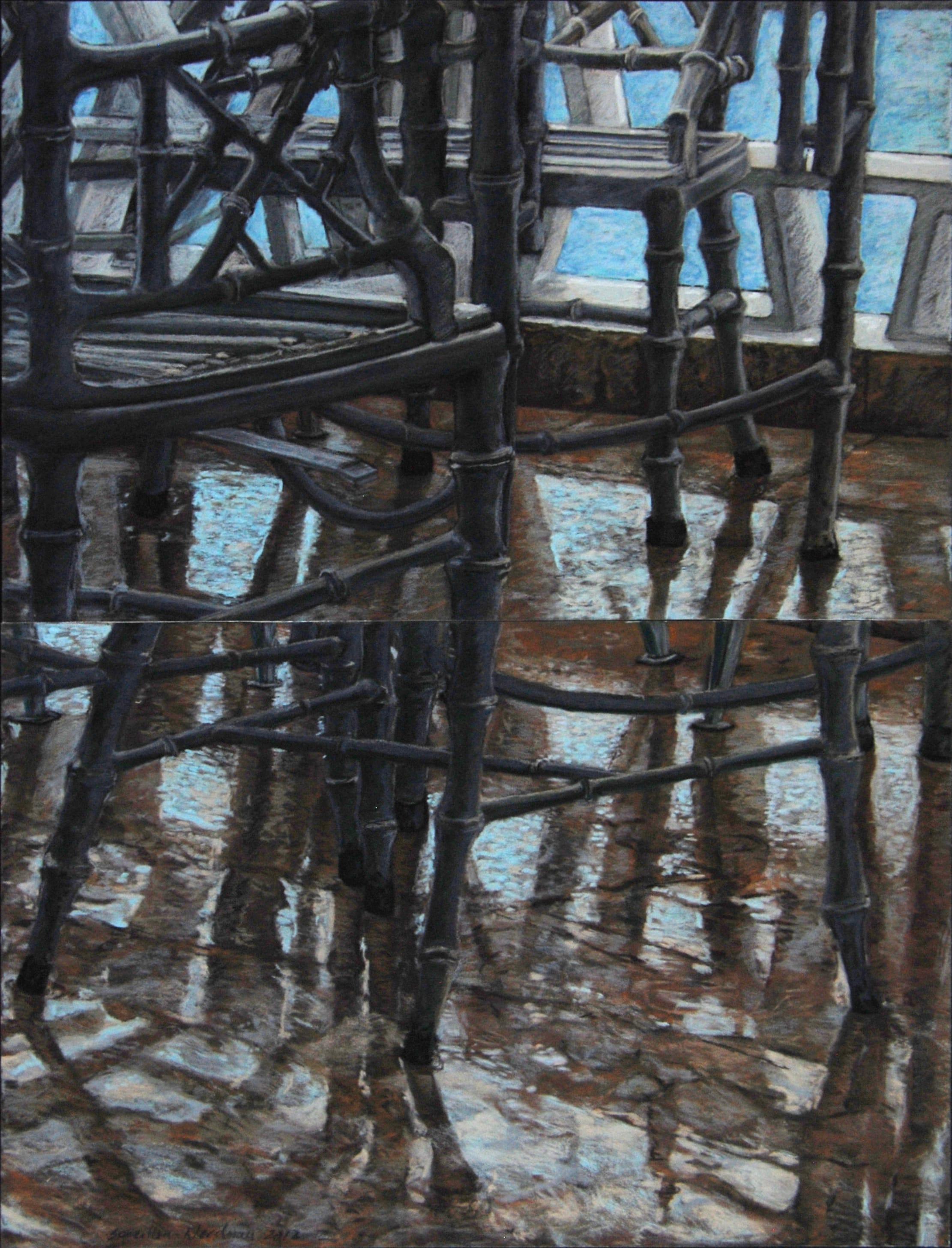 La Terrasse, 2012, 100x70cm