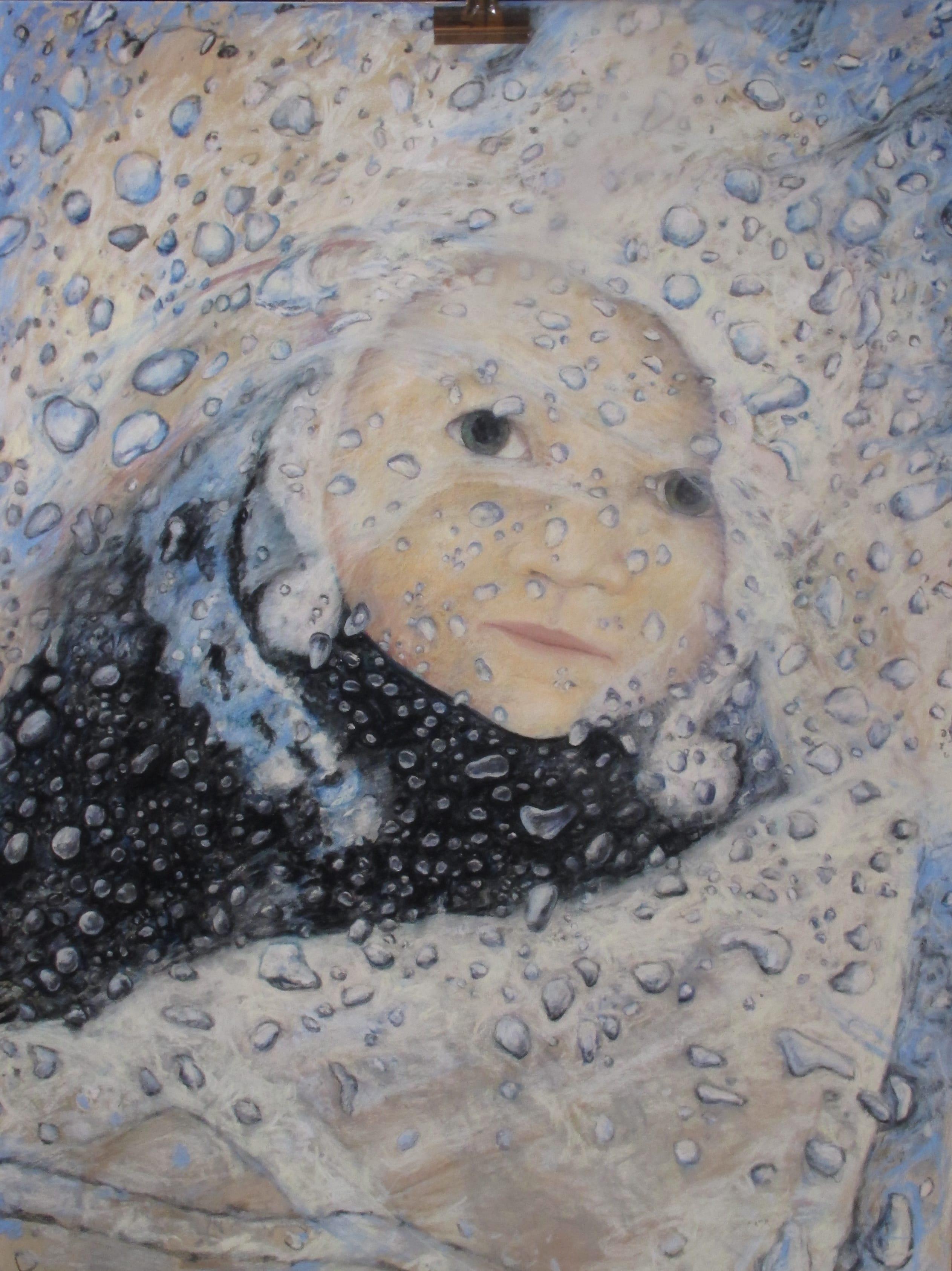 Lily, 2011, 80x60 cm