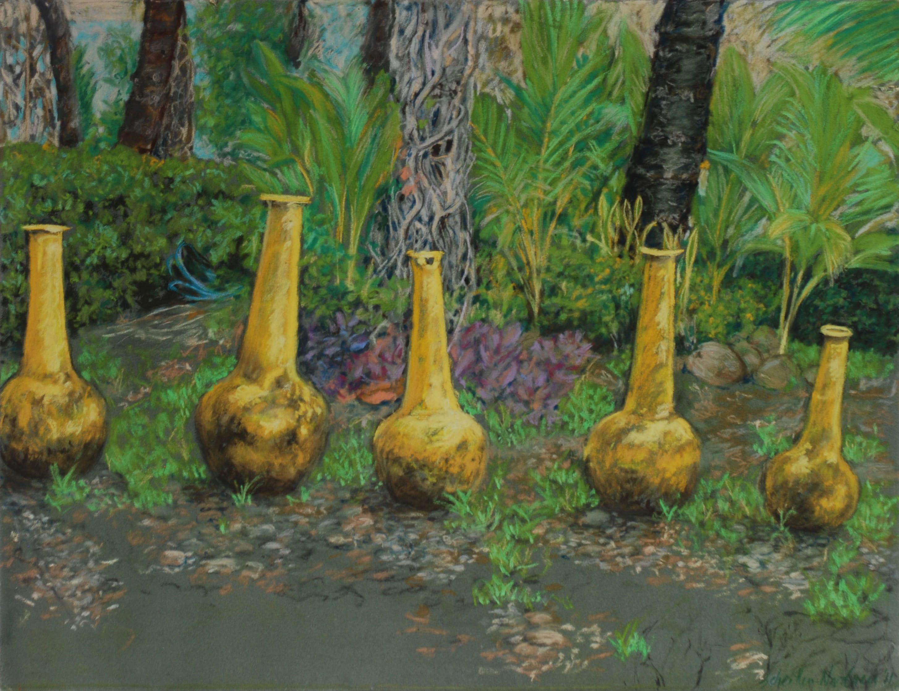 Los Flamingos, 2011, 50x65cm