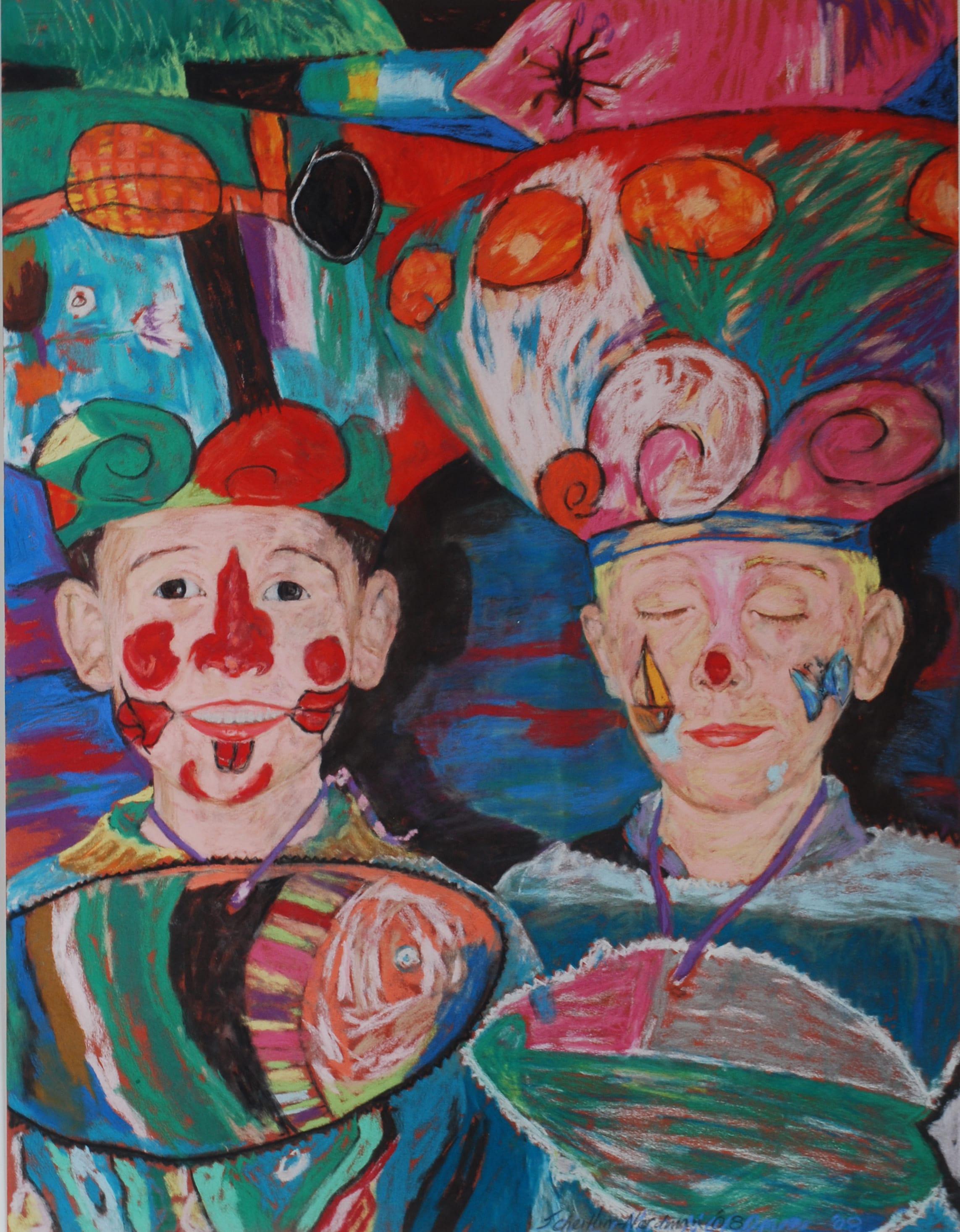 Mardi Gras, 2008, 80x60 cm