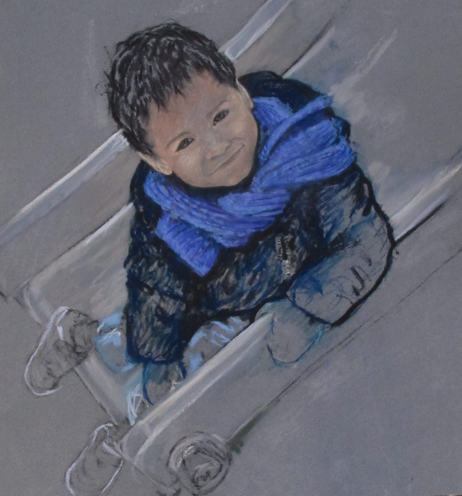 Noé, 2011, 50x50cm