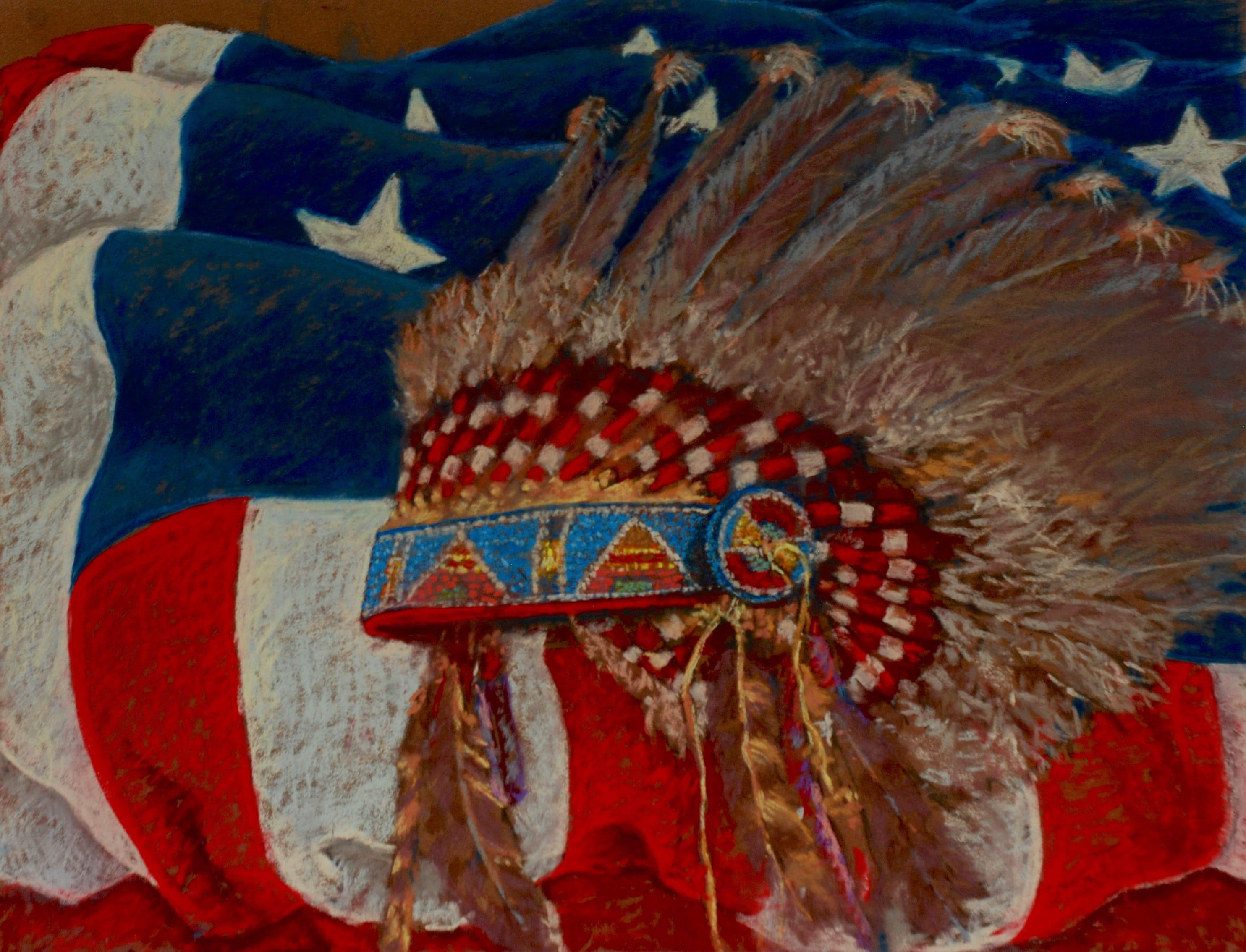 The American, 2015, 50x65 cm