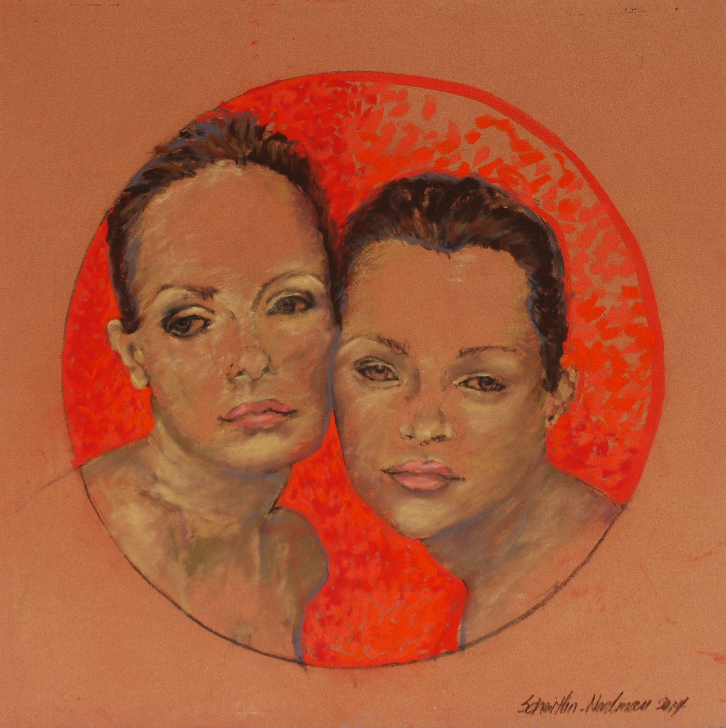 Thelma & Louise, 2014, 50x50cm