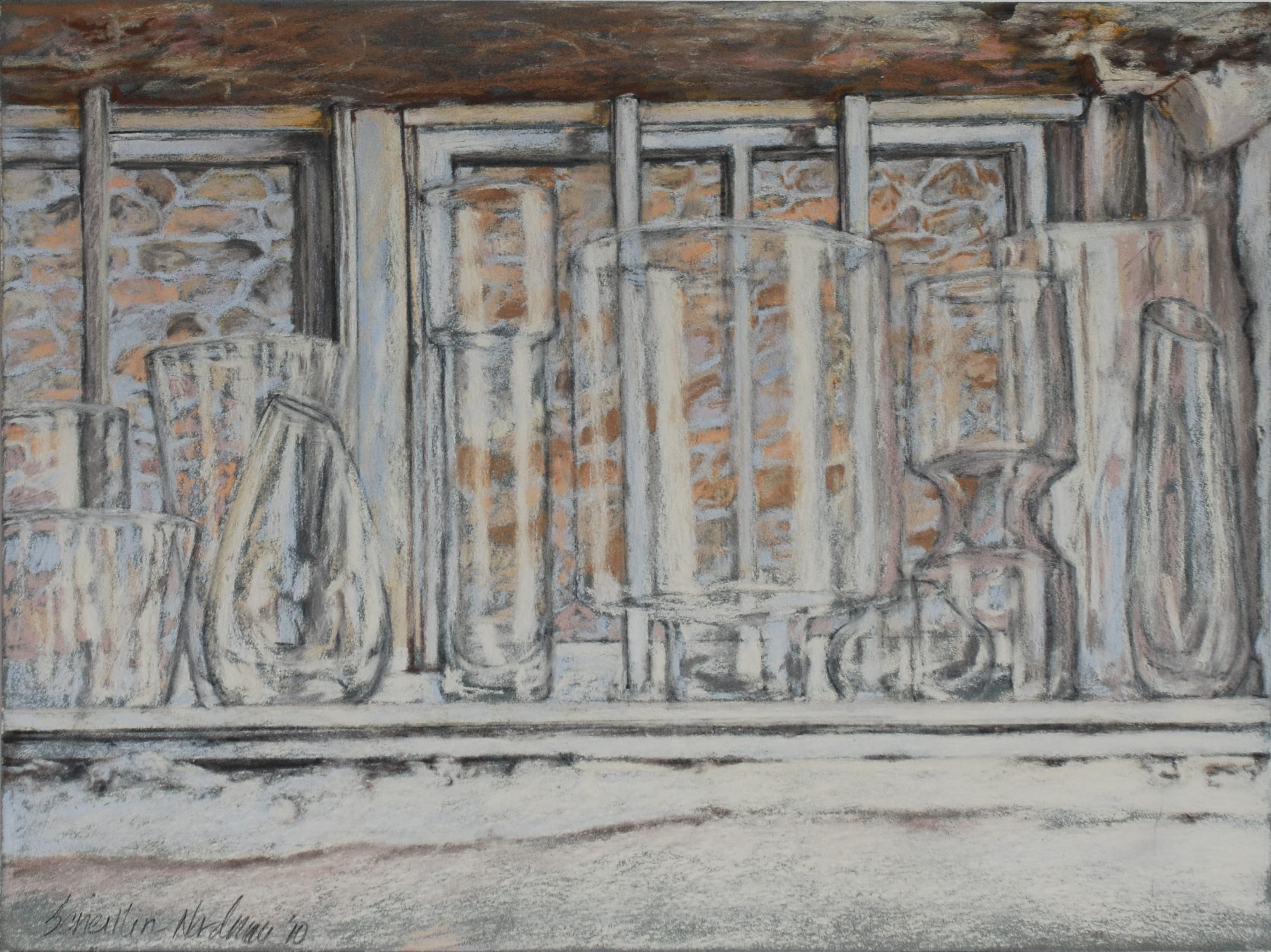 Windowsill, 2010, 30x40 cm