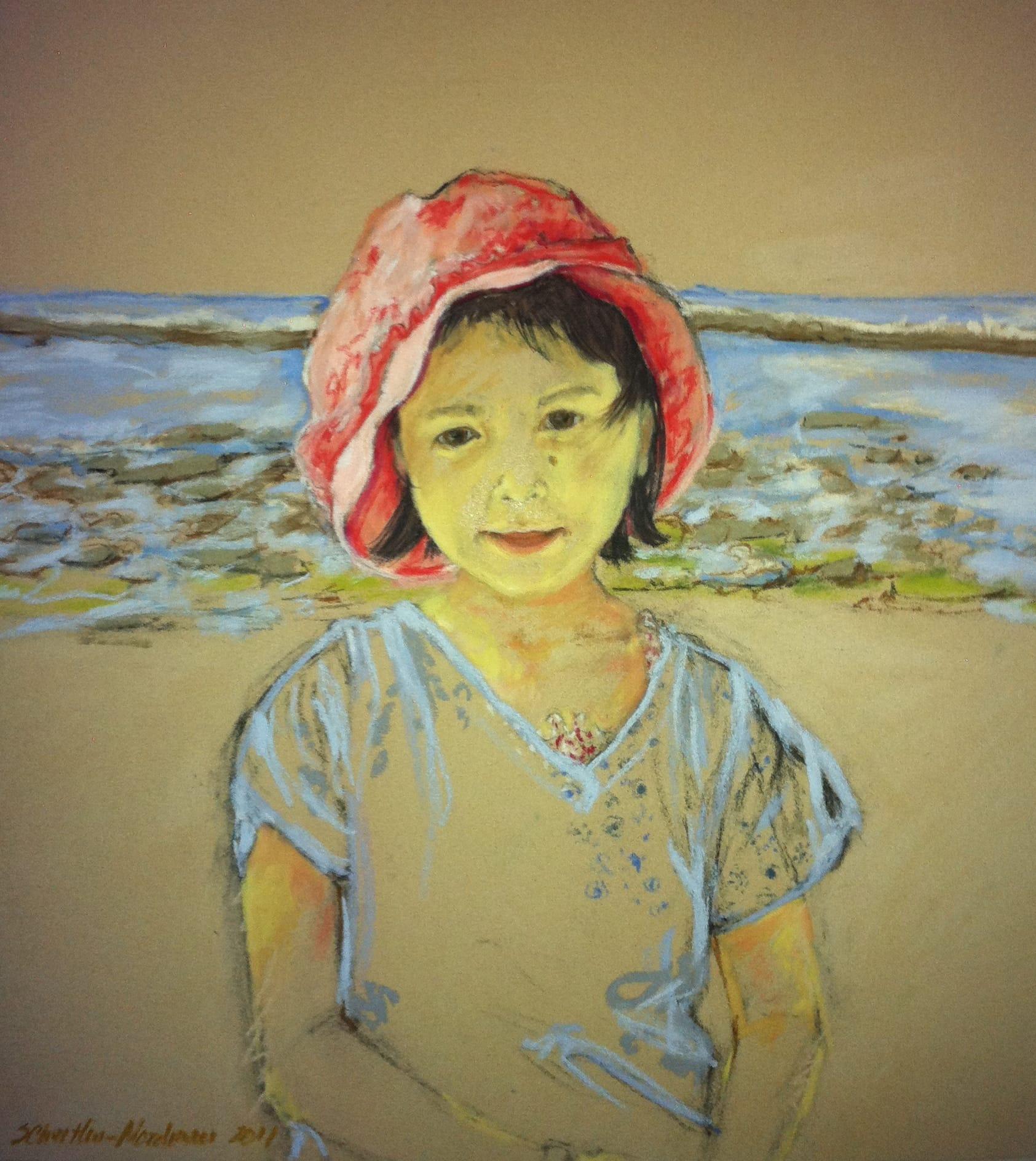 Yasmine, 2011, 50x50cm